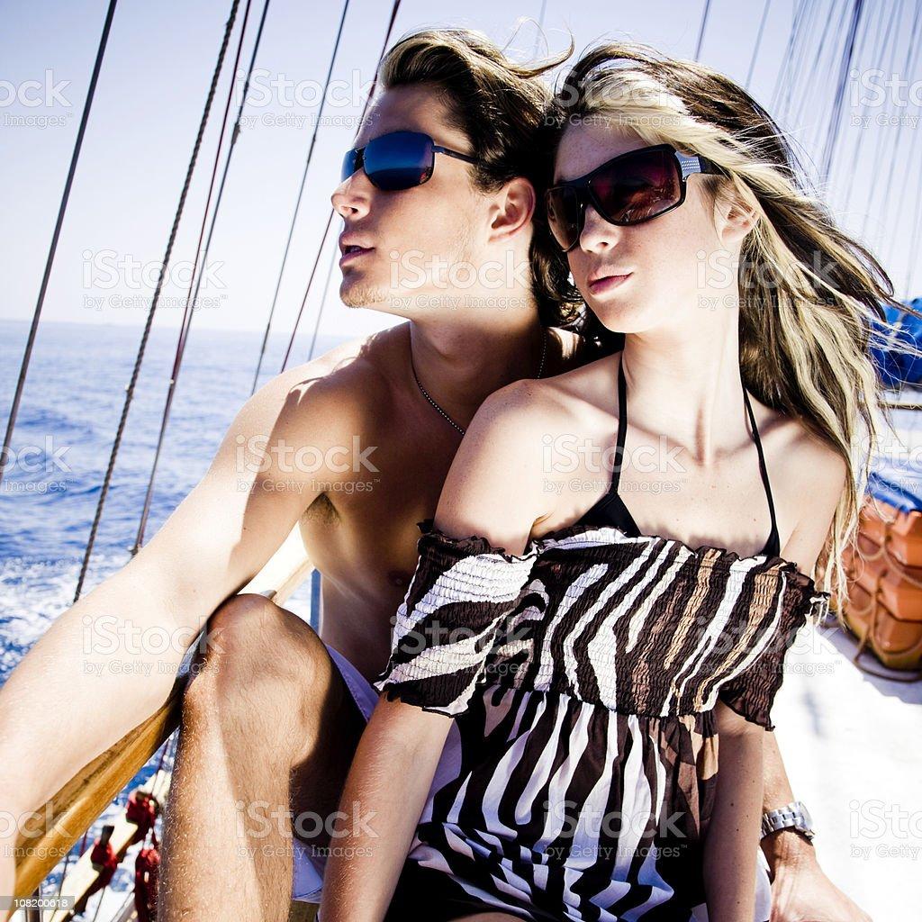 Sailing Beauty royalty-free stock photo