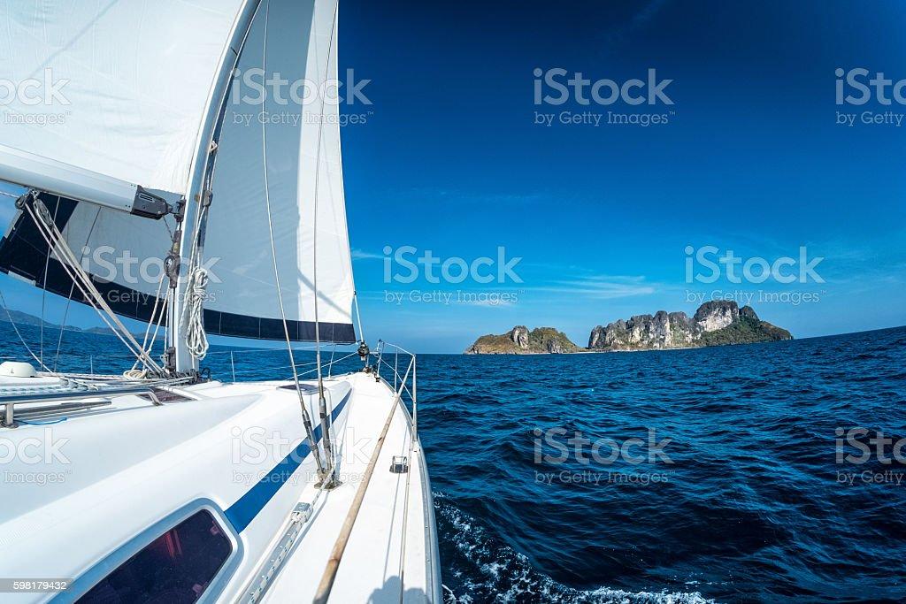 Barco a vela  foto royalty-free