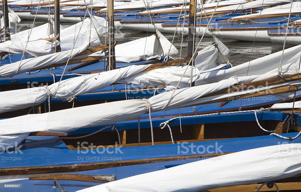 Segelboote 5 Lizenzfreies stock-foto