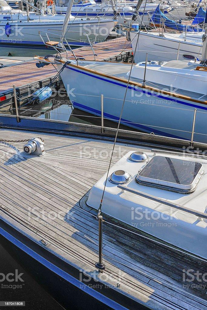 Sailing boats royalty-free stock photo