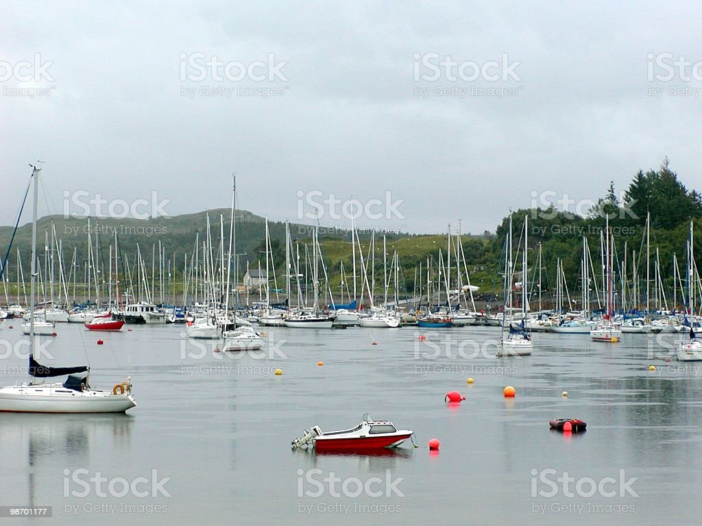 Sailing Boats royalty-free stock photo