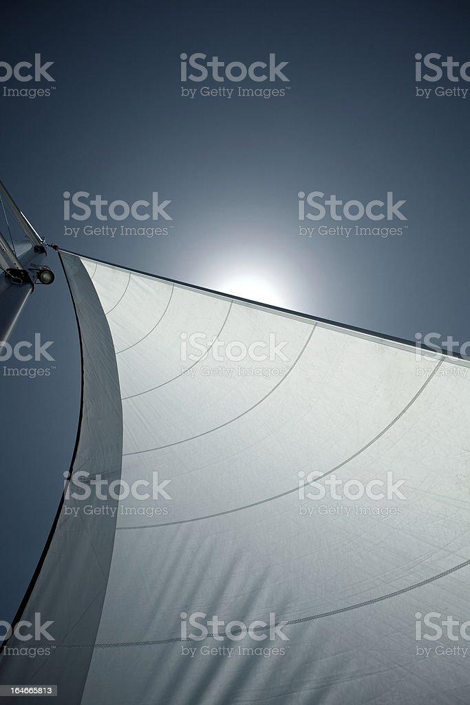 Sailing Detail stock photo