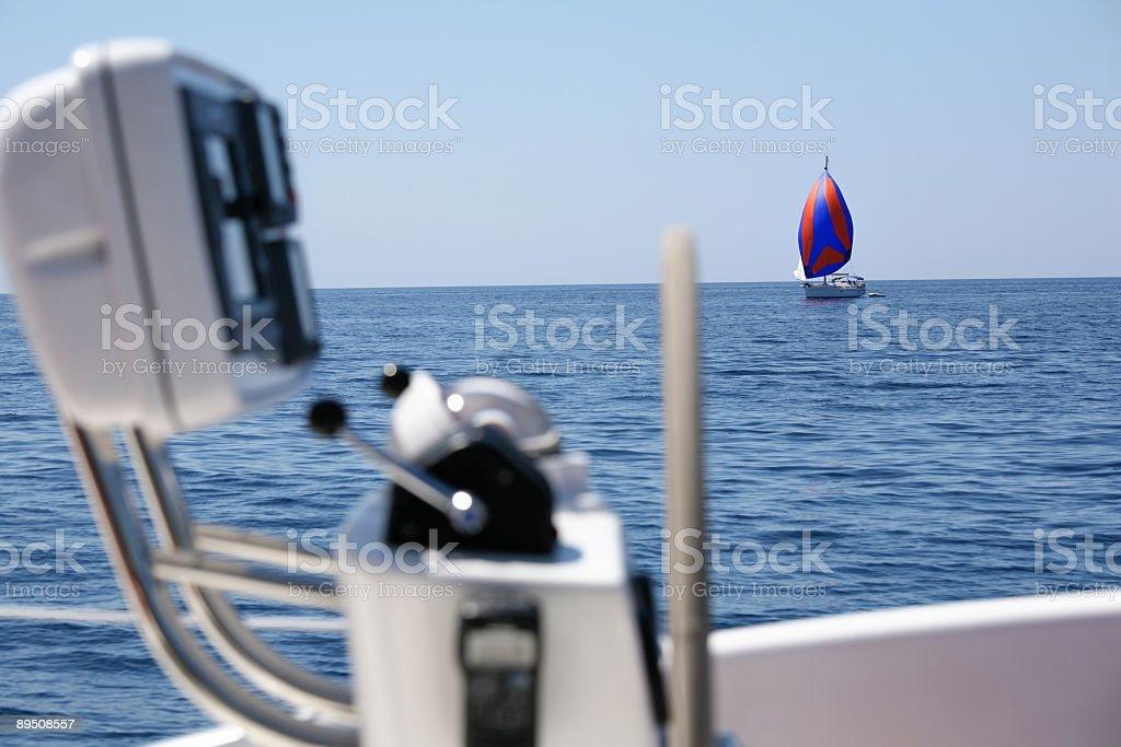 Sailing details royalty-free stock photo