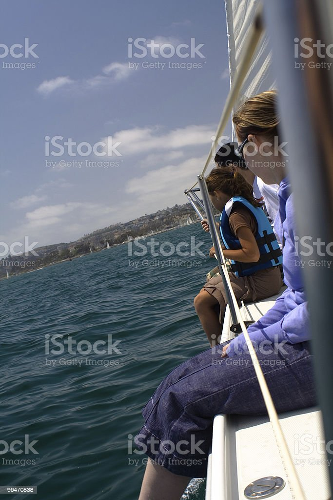 Sailing Fun royalty-free stock photo