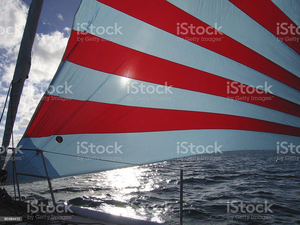 sailing in australia-2 royalty-free stock photo