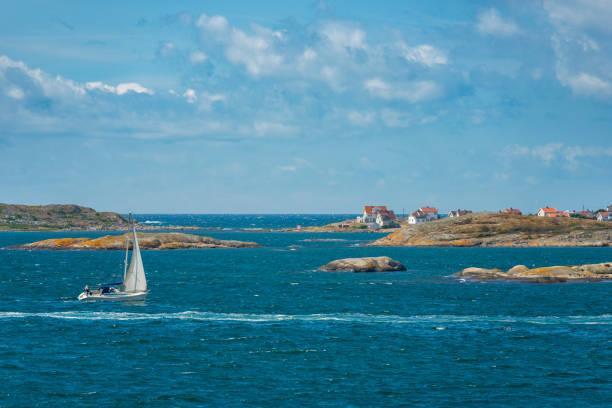 segling i sverige - bohuslän nature bildbanksfoton och bilder