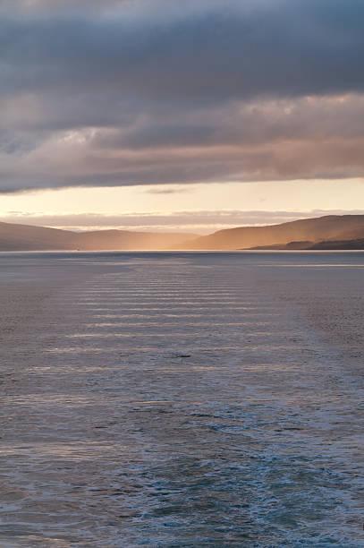 Segeln in Oban Bay, Schottland, in der Nähe des'Isle of Mull – Foto