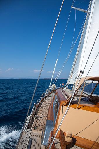 Sailing On Aegean Sea