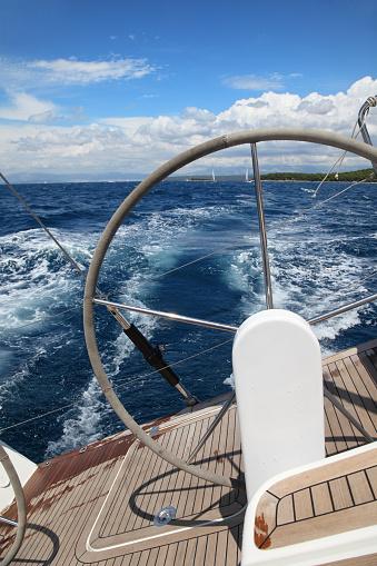 Sailing detail-Croatia
