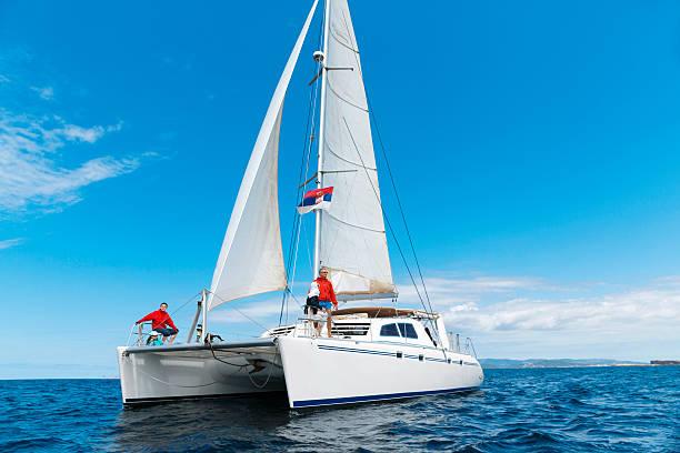sailing - katamaran bildbanksfoton och bilder