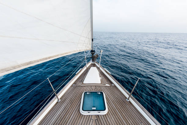 Navegação à vela - foto de acervo