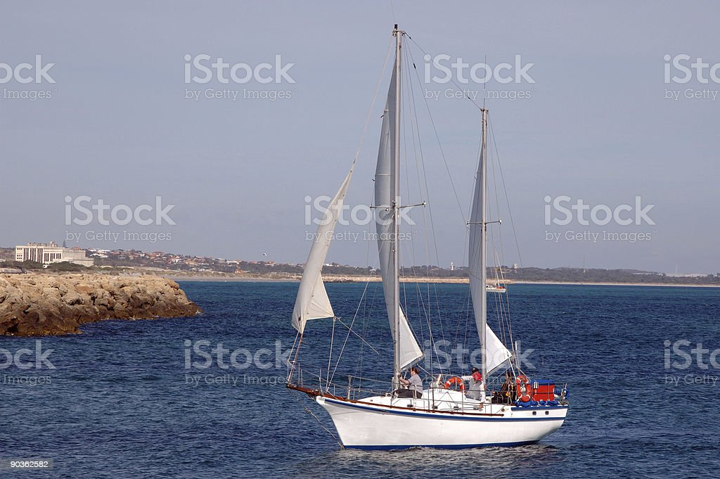 Sailing. royalty-free stock photo