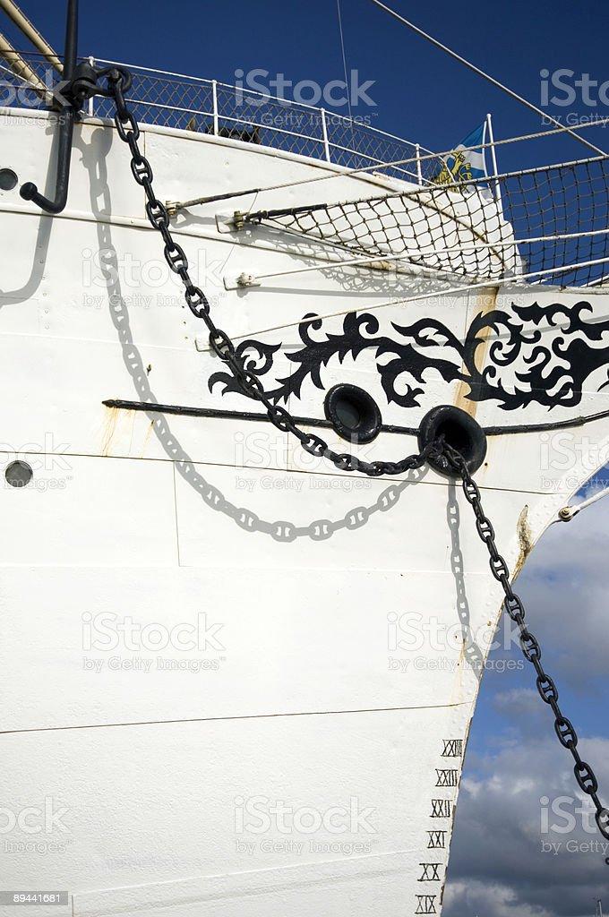 Navire à voiles photo libre de droits