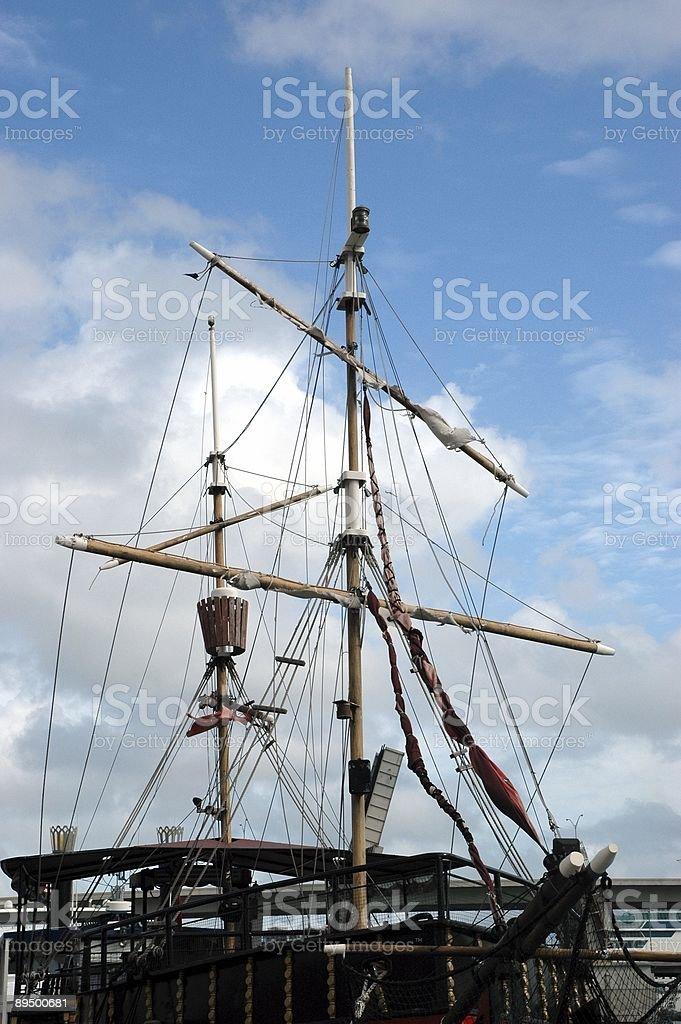 Sailing Ship royaltyfri bildbanksbilder