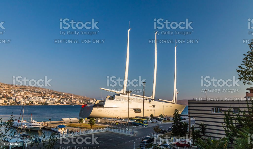 Sailing Yacht A Sya One Of The Biggest Sailing Yachts In The World