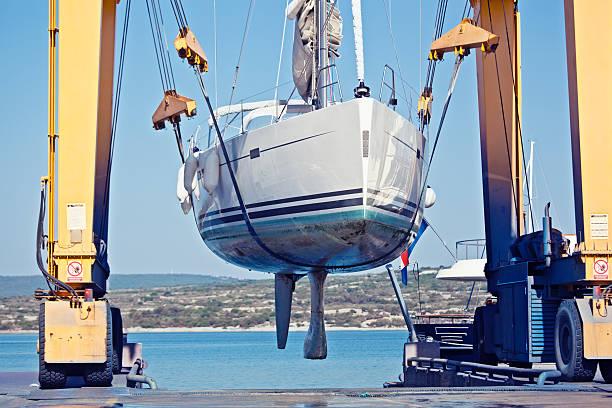 sailing yacht de mantenimiento - gran inauguración fotografías e imágenes de stock