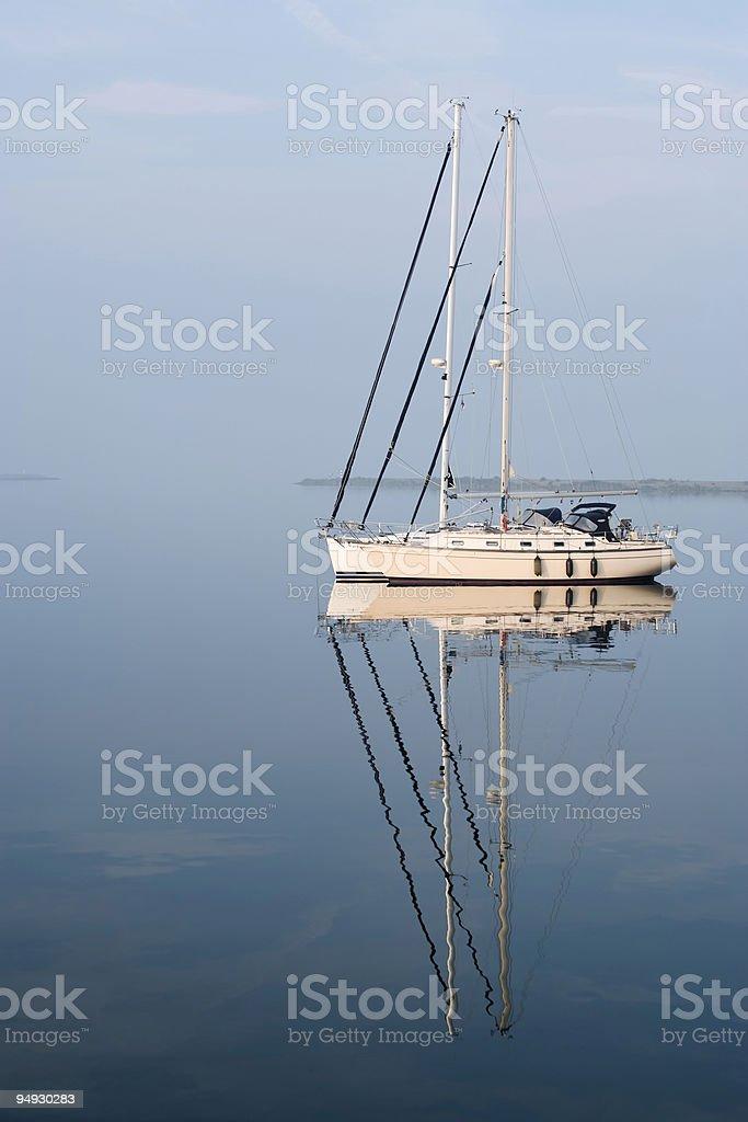 sailing yachts royalty-free stock photo