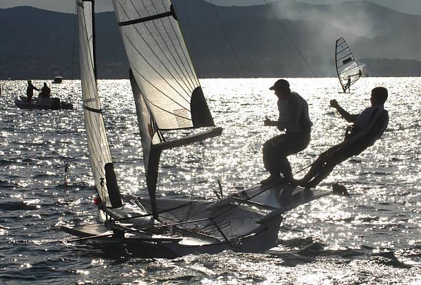 sailing02 stock photo