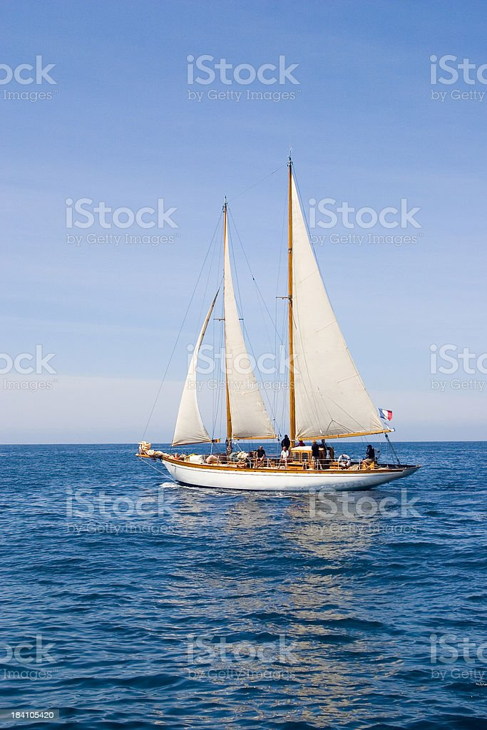 Sailing9 royalty-free stock photo