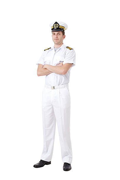 sailor captain - navy stock photos and pictures