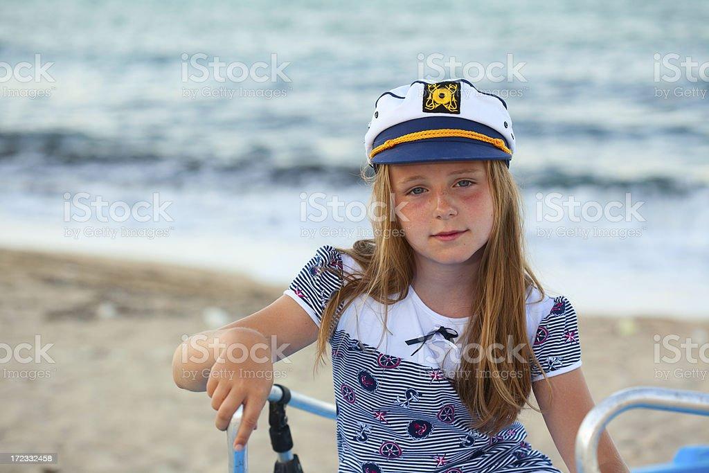 Sailor girl royalty-free stock photo