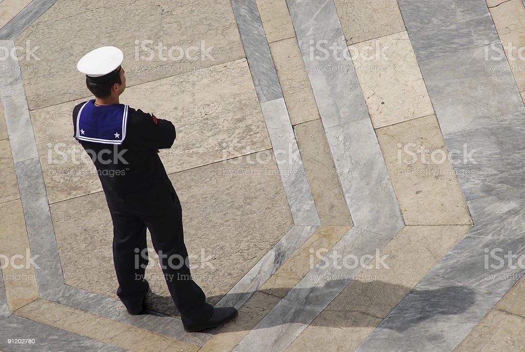 Sailor stock photo