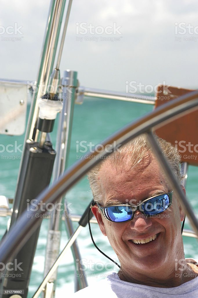 Sailor Smiling royalty-free stock photo