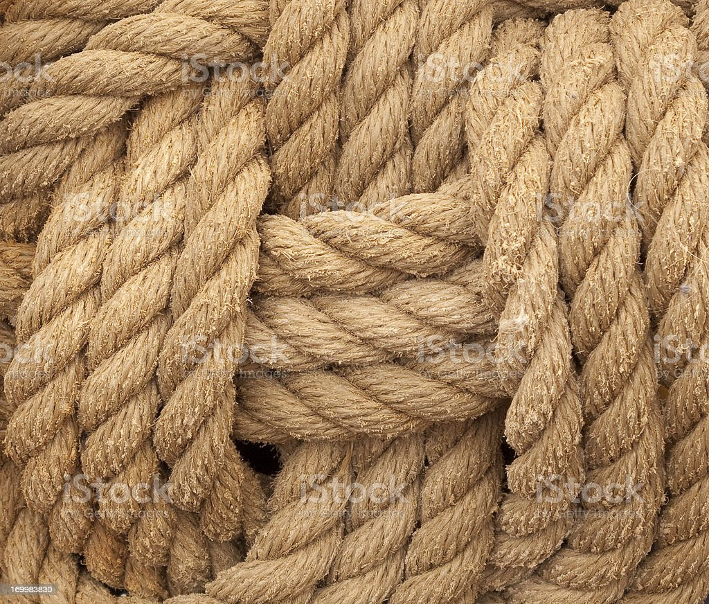 Sailors Knot stock photo
