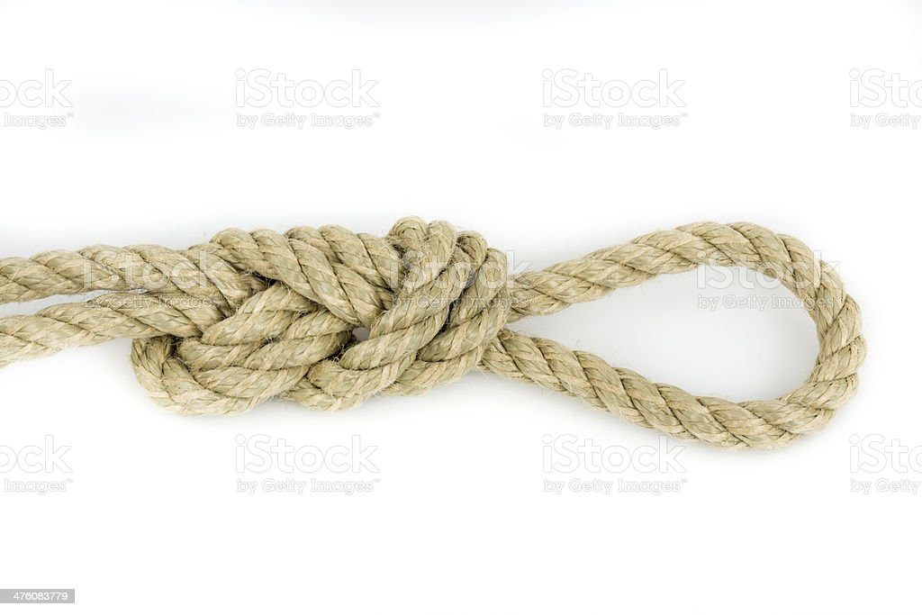 sailor's knot stock photo