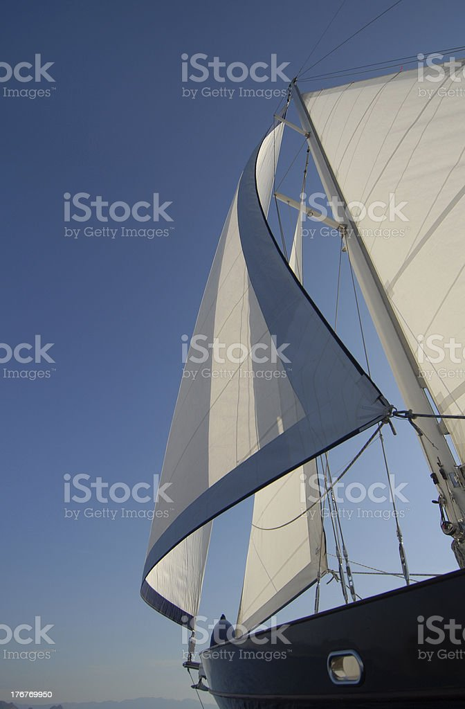 sails royalty-free stock photo