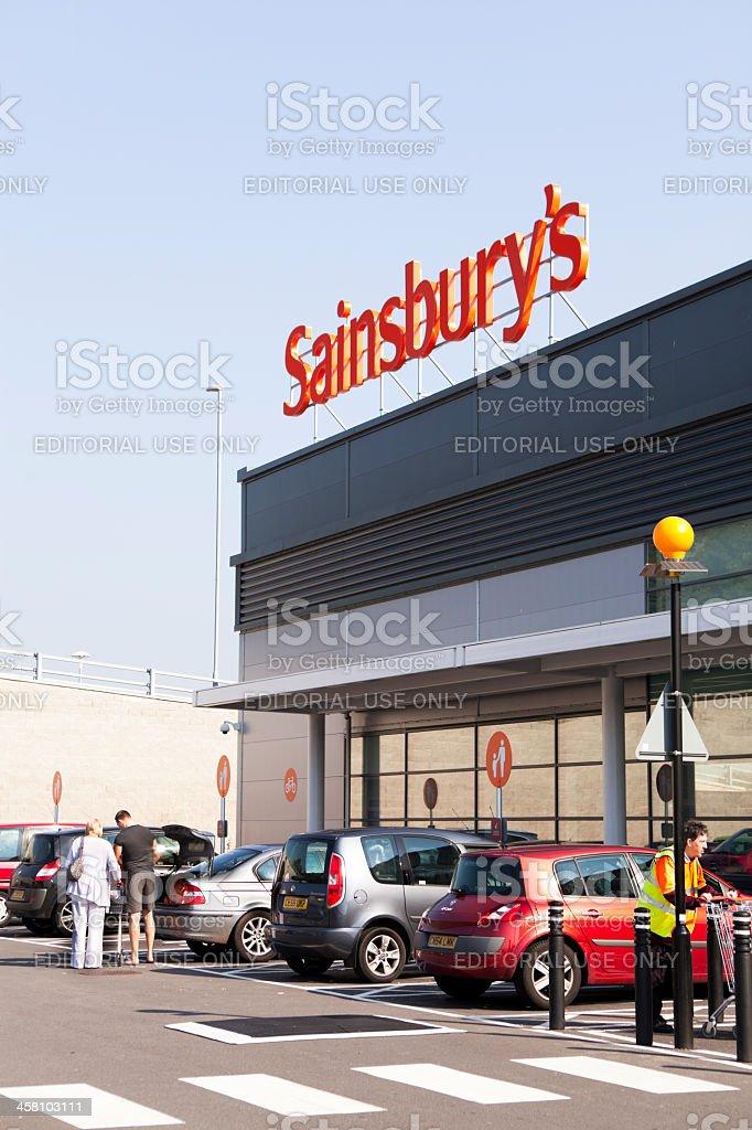 Sainsburys stock photo