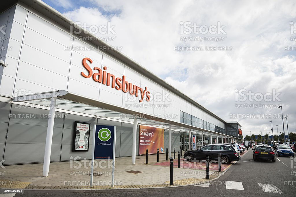 Sainsbury's Supermarket stock photo