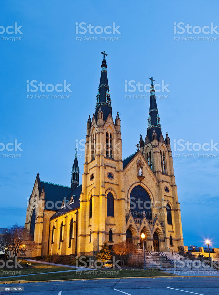 Saint Andrew's Church In Roanoke, Virginia royalty-free stock photo