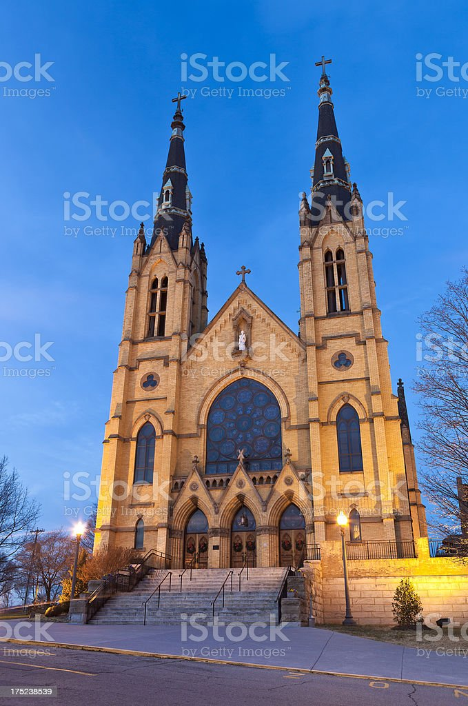 Saint Andrew's Church In Roanoke, Virginia stock photo