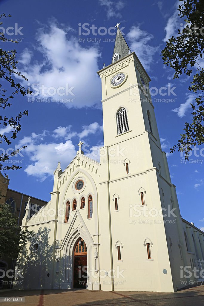 San Augustin de Laredo stock photo