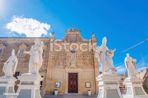 istock Saint Augustine in Rabat (Victoria), Gozo, Malta. 186303448