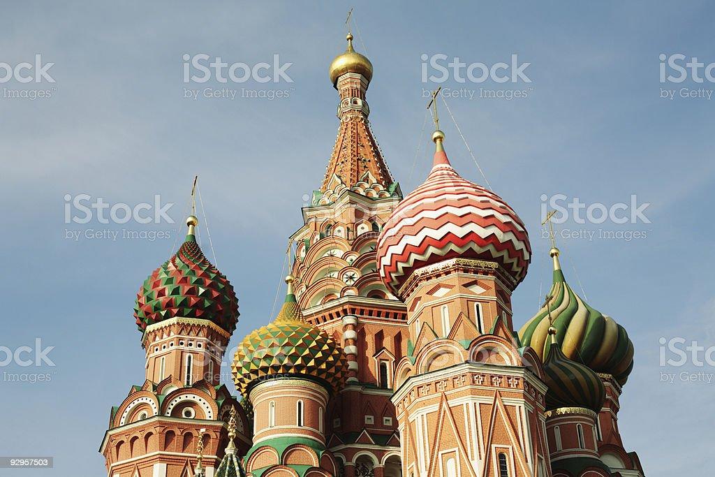 Saint Basil Cathedral royalty-free stock photo