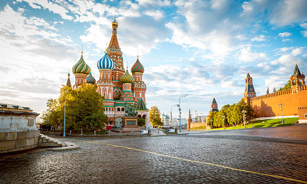 Saint Basil's Cathedral on Red Square in Moscow, Russia - Photo