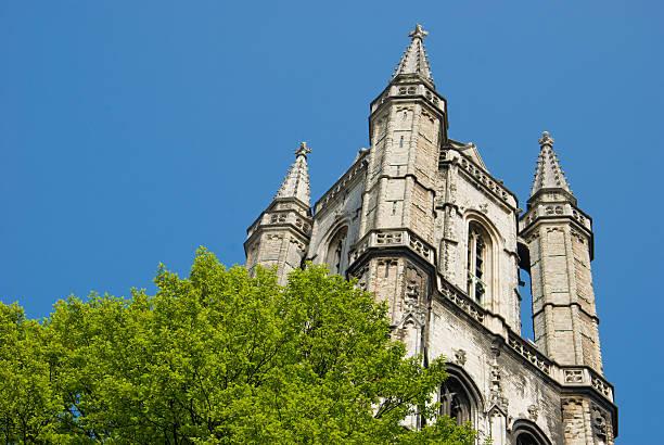Saint bede Kathedrale, Gent, Belgien – Foto