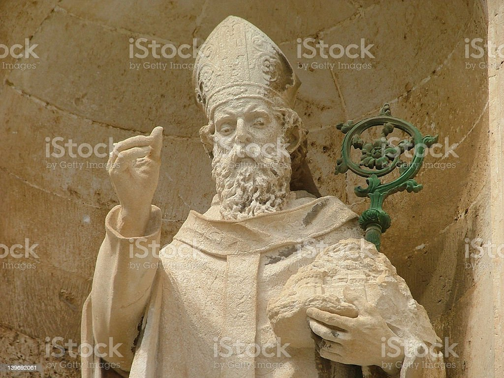 Saint Blaise royalty-free stock photo