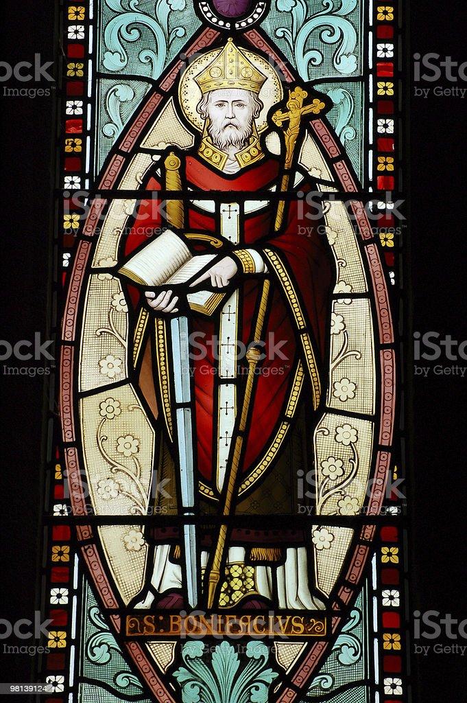Saint Boniface royalty-free stock photo