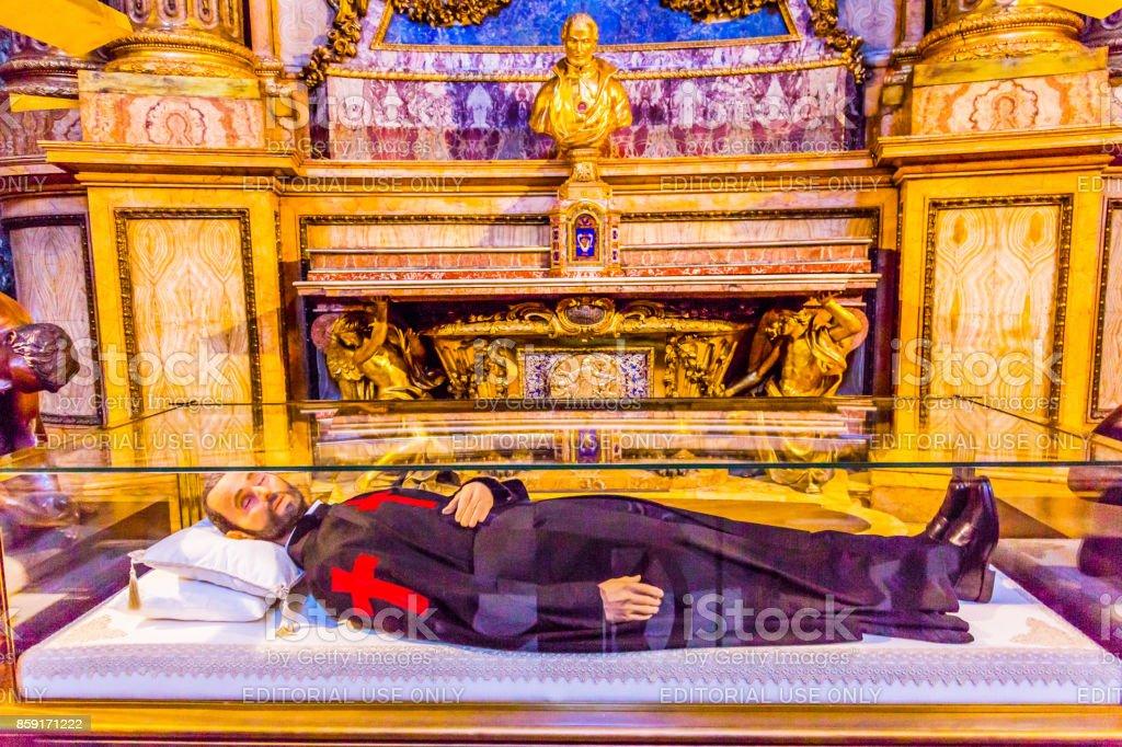 Saint Camillus de Lellis Santa Maria Maddalena Church Rome Italy stock photo