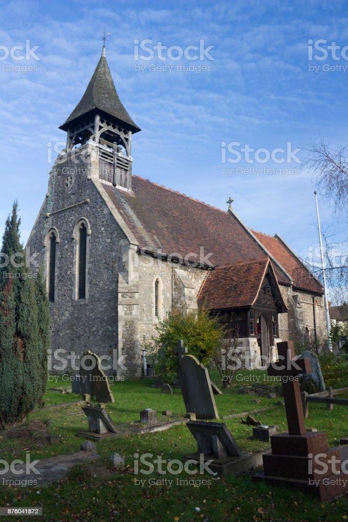 Saint Catherine's Church, Wickford, Essex, England stock photo
