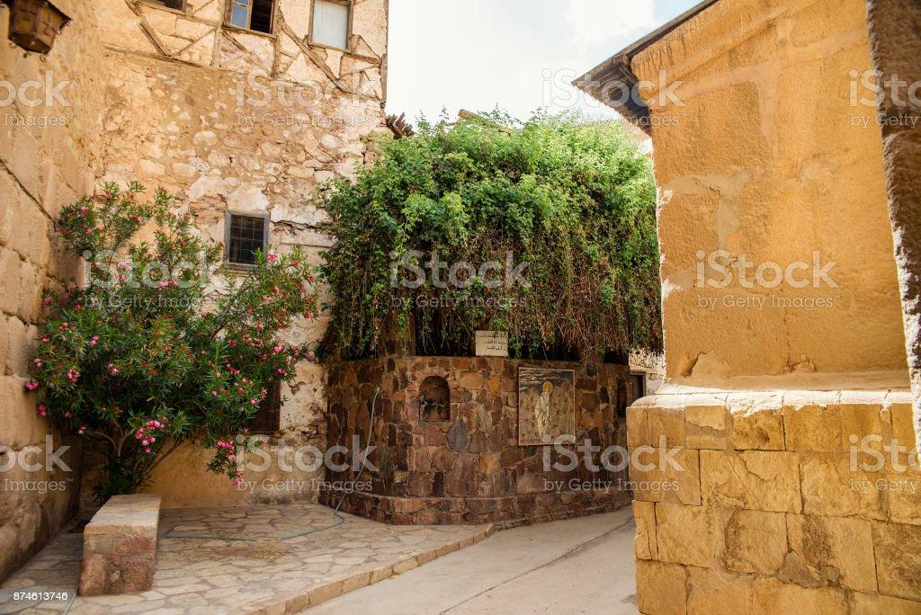 Saint Catherine's Monastery stock photo