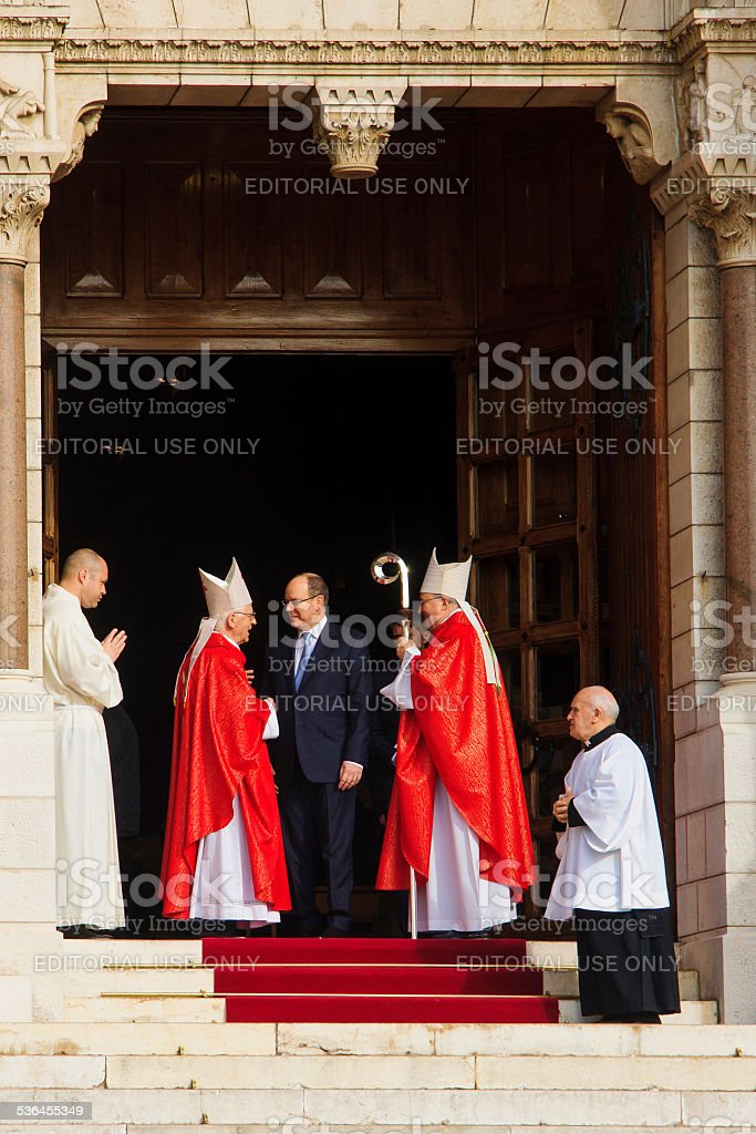 Saint Devota Celebrations in Monaco - 2015 stock photo