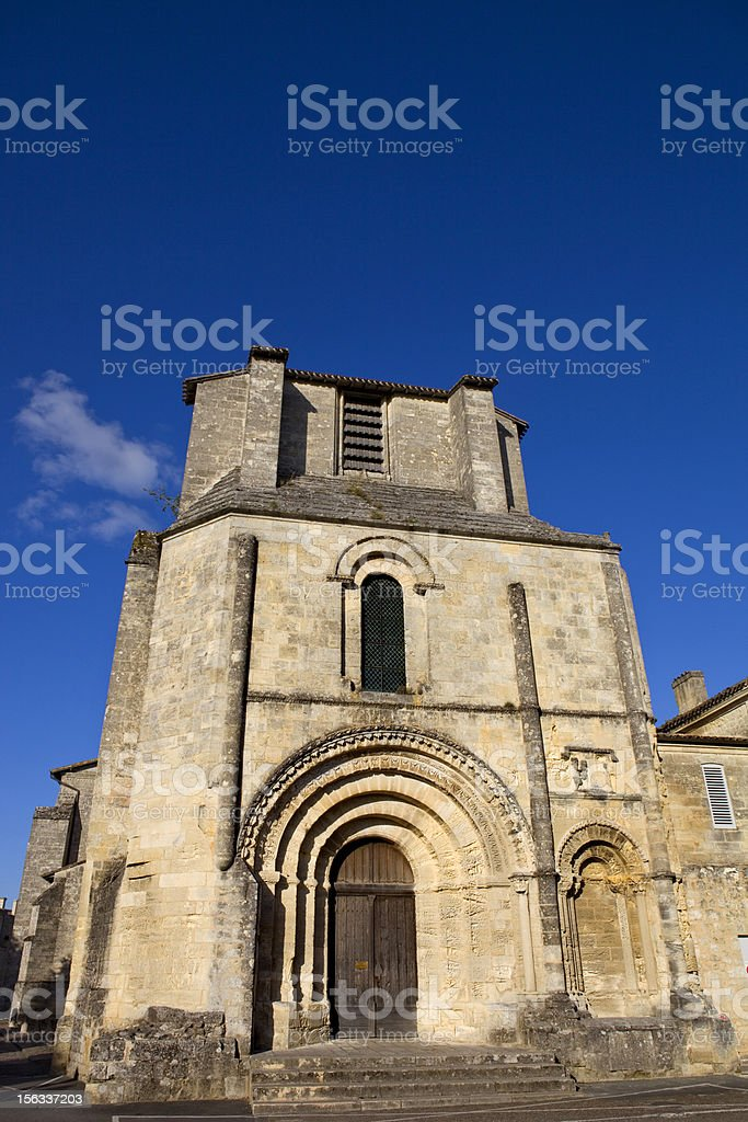 Saint Emilion royalty-free stock photo