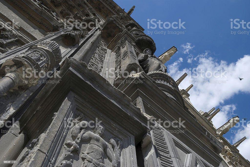 Saint Eustache royalty-free stock photo