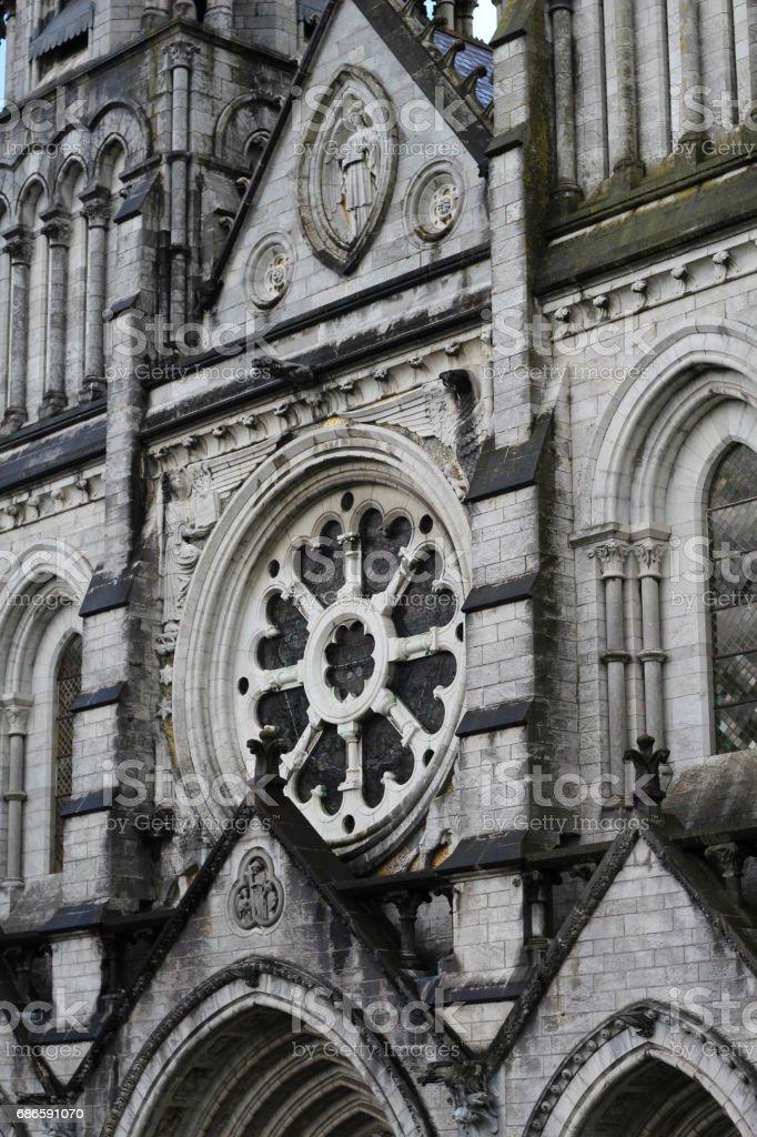 Saint Fin Barre's Cathedral, Cork City, Ireland photo libre de droits