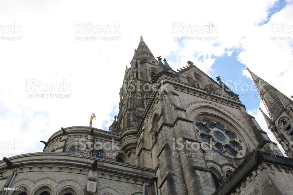 Saint Fin Barre's Cathedral, Cork City, Ireland royalty-free stock photo