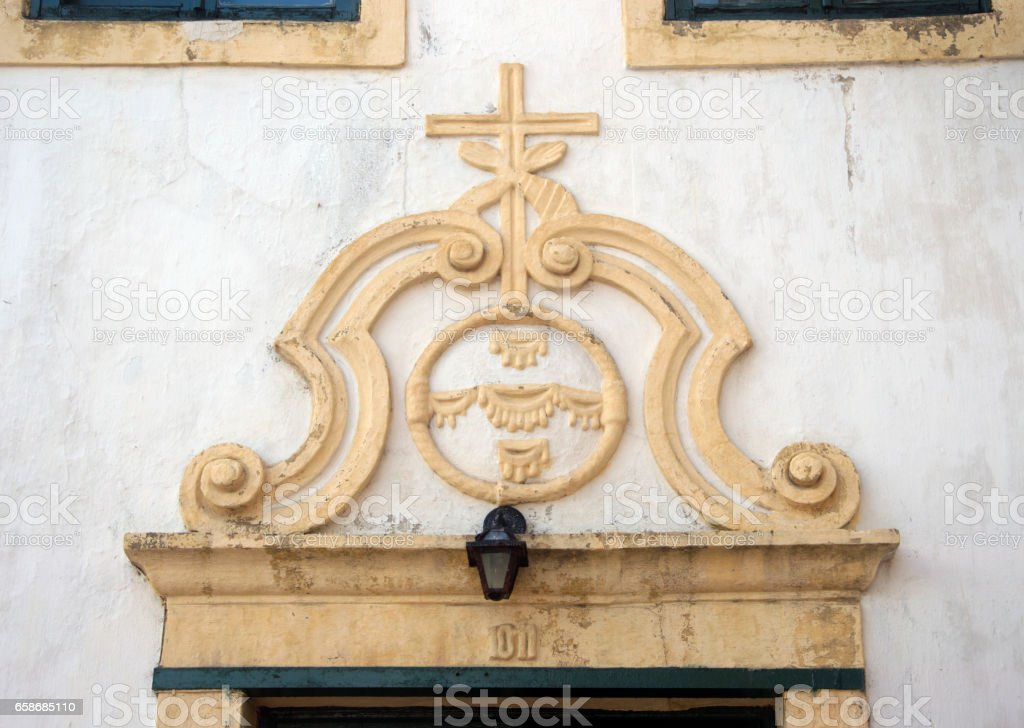 Saint Francis Of Assisi Coat Of Arms Stock Photo More Pictures Of